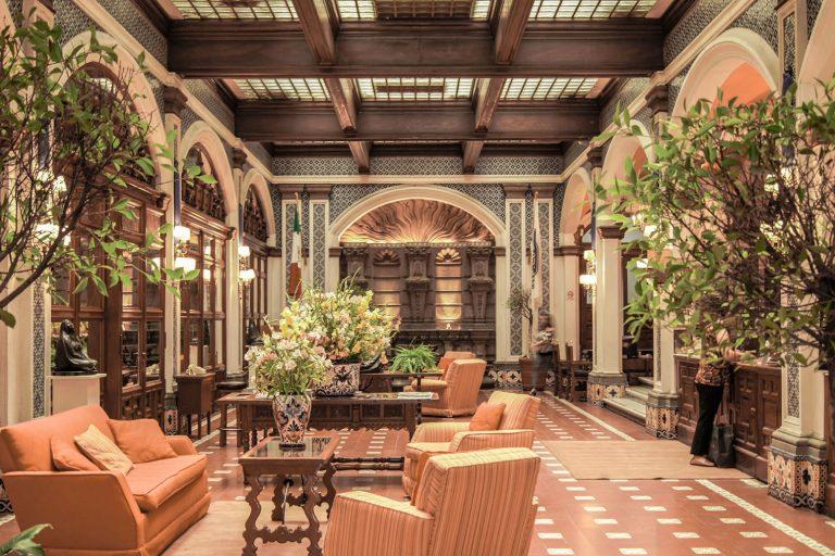 interior hotel soft light